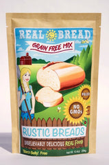Rustic Bread Mix - Grain Free * Paleo * Low Carb   10.2 oz