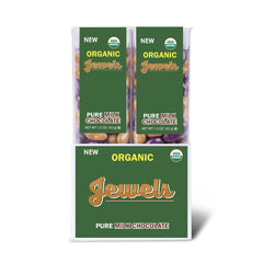 Organic Jewels (Milk Chocolate) 1.5 oz. Tube - 14 ct.