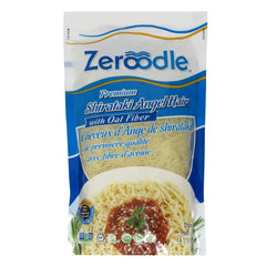Zeroodle - Premium Shirataki Pasta - Angel Hair with Oat Fiber - 400g