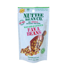 Nuttee Bean Favalicious Whole Roasted Wasabi & Ginger Fava Bean Snack