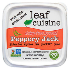 Dairy-free Spread: Peppery Jack