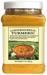 All Natural Turmeric Powder 17oz Tub