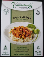 Chana Masala Spice Packs (set of 2 ) - 8 Total Servings