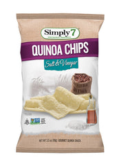 Simply7 Quinoa Chips Salt & Vinegar - 3.5oz