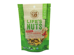 Life's Nuts - Organic Raw Sprouted TCG Cashews (Turmeric, Cayenne & Ginger)
