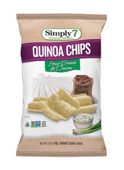 Simply7 Quinoa Chips Sour Cream & Onion - 3.5oz