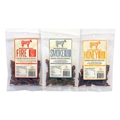 Naked Cow All Natural Grass Fed Beef Jerky - 3 Pack