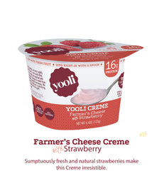 Yooli Farmer's Cheese Creme: Strawberry