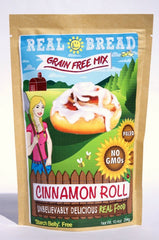 Cinnamon Roll Mix - Grain Free * Paleo * Low Carb  10.2 oz
