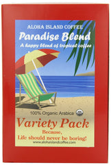 Aloha Island Coffee, Paradise Blend, Variety Pack 18 ct. Coffee Pods