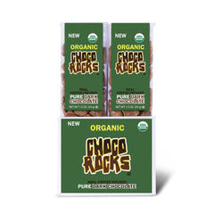 Organic ChocoRocks® Coffee Rocks (Dark Chocolate) 1.5 oz. Tube - 14 ct.