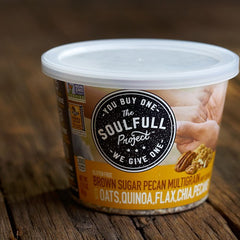 The Soulfull Project Brown Sugar Pecan Multigrain Oatmeal Cups- Gluten Free