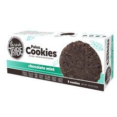 Thrive Tribe Chocolate Mint Cookies - 7.65 oz - 6 Boxes