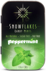 PEPPERMINT sugar-free candy mints