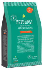 KetunPet Super Premium vegan dog food for ADULT dogs - Bag of 22 lbs
