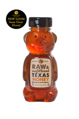 Desert Creek Honey Raw, Unfiltered, Unpasteurized American Honey, 12 oz Bear Twin Pack