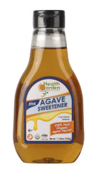 Health Garden Blue Agave Sweetener, 11.64 oz, 4 pack