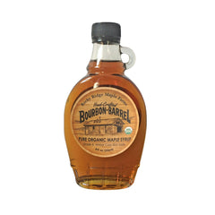 Bourbon Barrel Pure Organic Maple Syrup 8 oz.