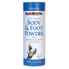 Body & Foot Powder Unscented 4oz.