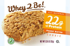 Whey 2 Be Peanut Butter Cookie 4-3.2oz packs