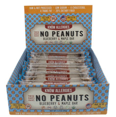 No Peanuts - Blueberry & Maple (12-pack)