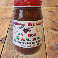 Bud Burn salsa hot