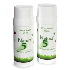 Naturz 5 Deodorant All Natural, Chemical Free, Fragrance Free