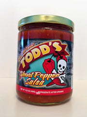 Todd's Ghost Pepper Salsa