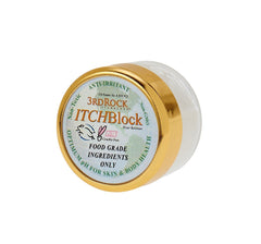 3rd Rock ITCHBlock™ - The Best NATURAL Itch Relief Cream - Use for Bug Bites, Poison Ivy, Skin Irritations - Toxin Free - Compare to Calamine, Caladryl, Benedryl Itch