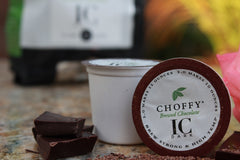 Choffy -Brewed Chocolate - IC Dark  K.Cups 12 Count