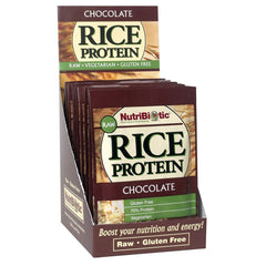 Rice Protein Packets, Chocolate 12ct.