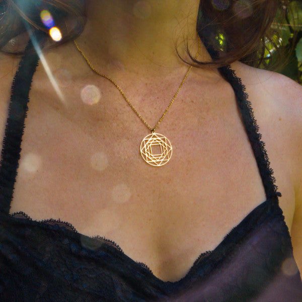 Kabbalah Symbolic Medium Necklace