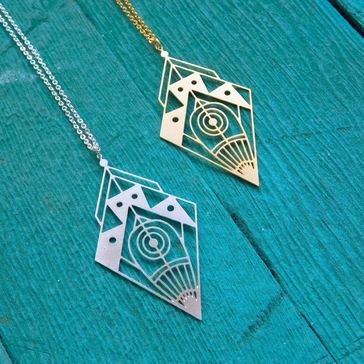 Space Diamond Necklace Thumbnail