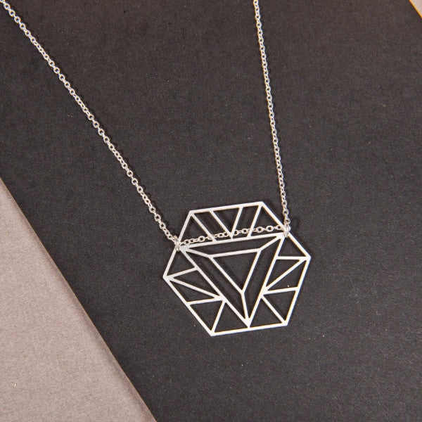 Hexagon Power Necklace