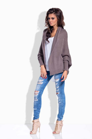 Cappuccino Loose Style Cardigan