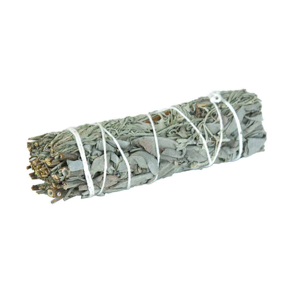 White Sage & Blue Sage Smudge Stick
