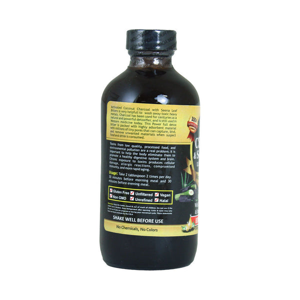 Charcoal & Senna Living Bitters - 8 oz.
