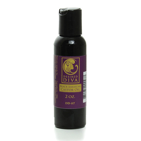 DD: Black Jamaican Castor Oil - 2 oz.