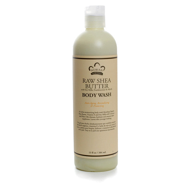 Raw Shea Butter Body Wash - 13 oz.