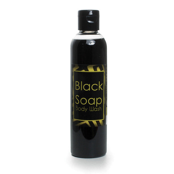 Liquid Black Soap/Body Wash - 8 oz.