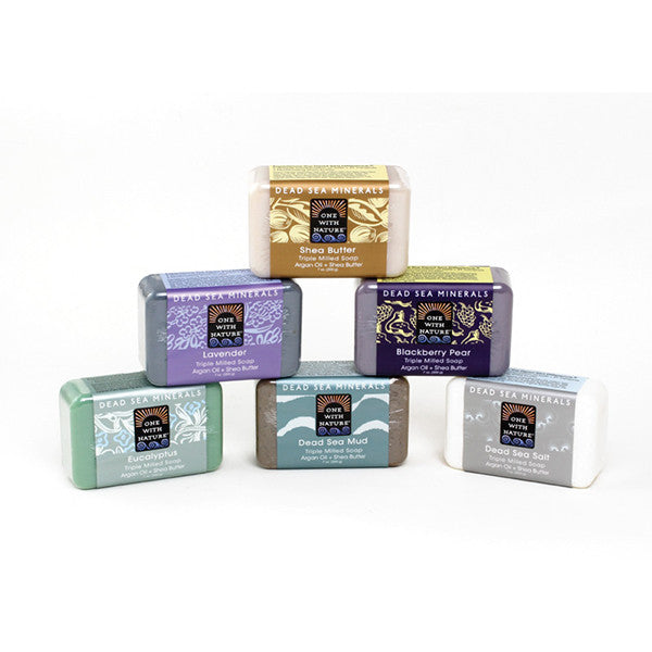 Set Of 6 Dead Sea Minerals Soap