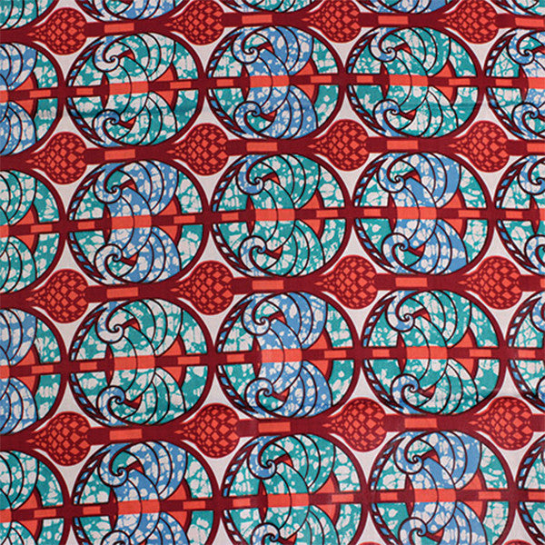 Royal Palace Print Fabric