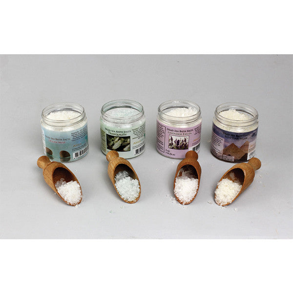 Set Of 4 Scented Dead Sea Salts - 4 oz.