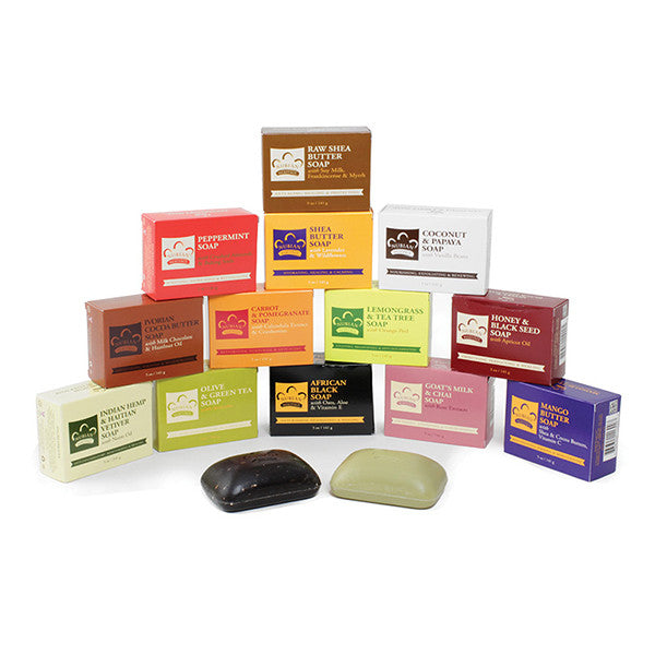 Set Of 14 Nubian Heritage Soaps