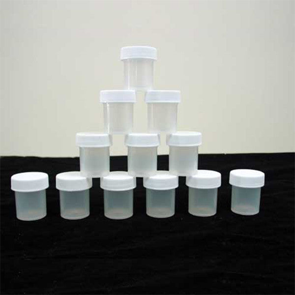 ½ oz. Sample Jars w/Screw Lid - 12pk.