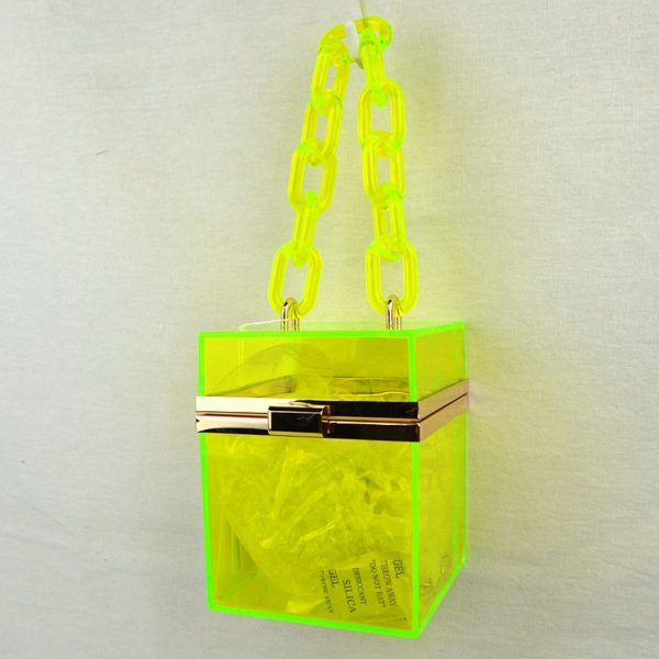 Yellow Jelly Bag-Utopia Africa Designs.