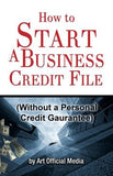 How to Start Business Credit Book