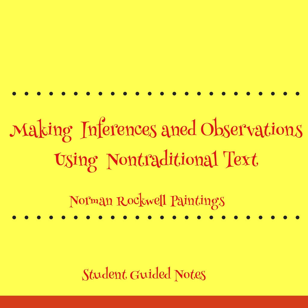 Making Inferences and Observations Lesson Plan