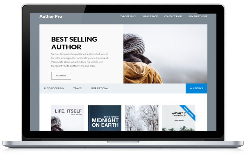 Author Pro Studiopress Theme