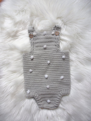 Crochet Bobble Romper